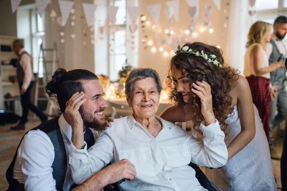 Rede der Mutter des Bräutigams