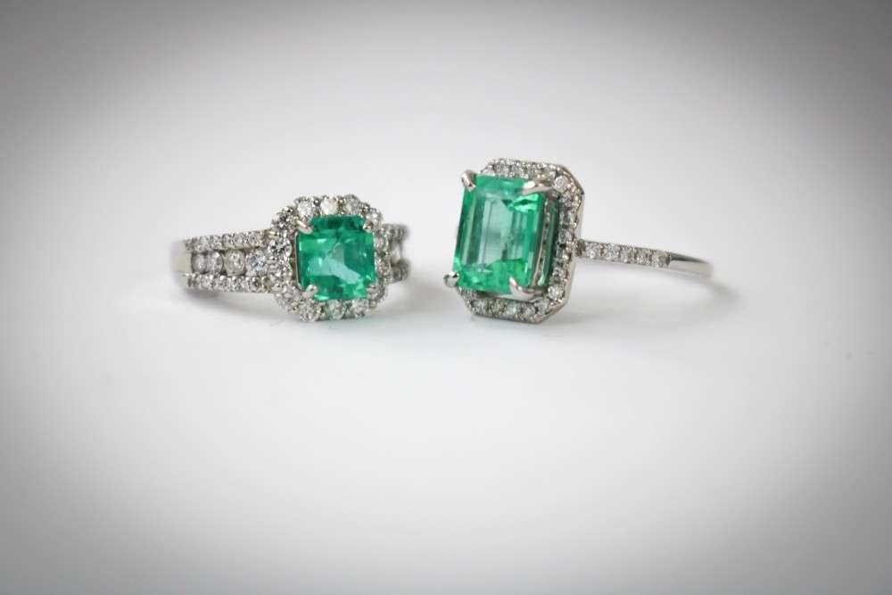 Der Smaragd, grün wie Wald und Wiese, galt früher als kräftiges Liebesamulett