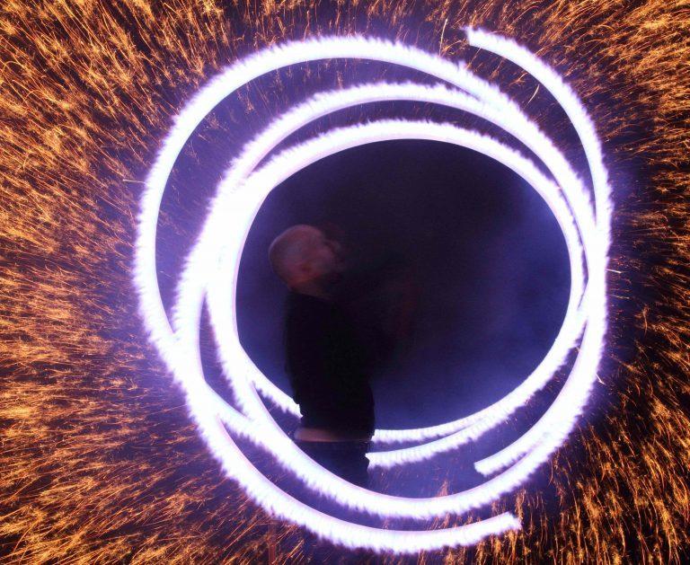 Außergewöhnliche Hochzeitfeuershow mit Brennendem Herz Beilngries in Bayern