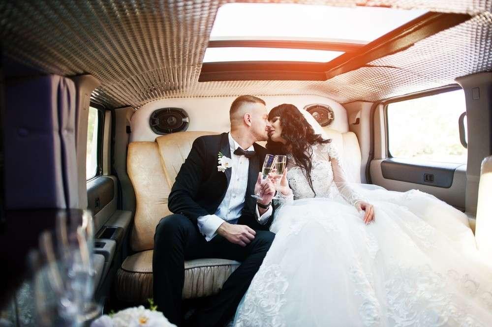 Limousine als Hochzeitsauto