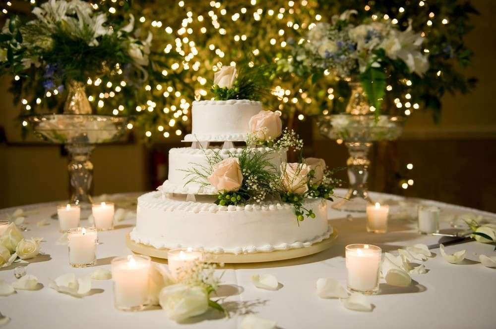 Variationen der Hochzeitstorte