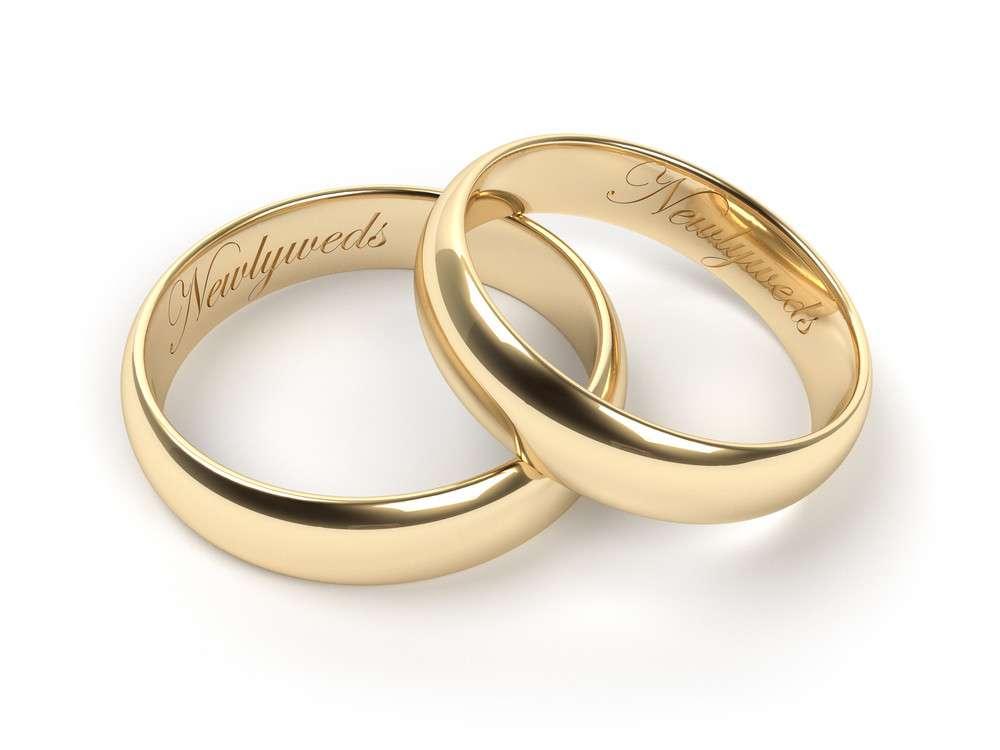 Ein Ring wird zum Ehering erst durch eine Gravur