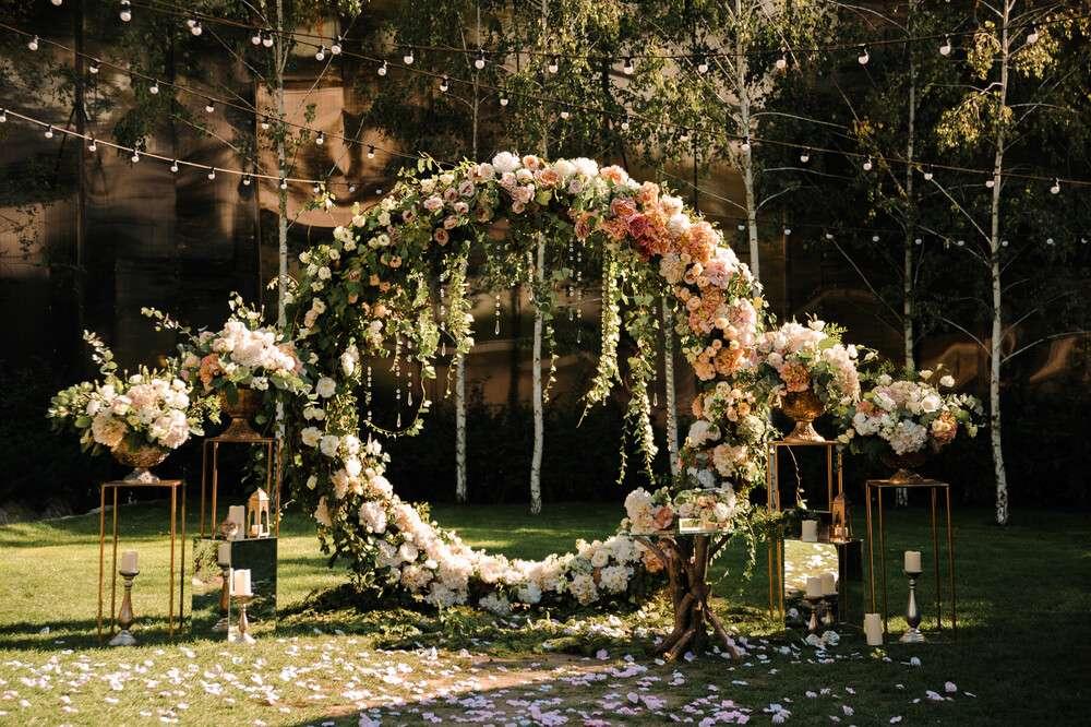 Hochzeitsbräuche und Sitten Trauungszeremonie