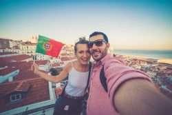 Romantische Flitterwochen an der Algarve-Küste in Portugal