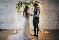 Das Gehen und Bewegen vor der Hochzeit üben