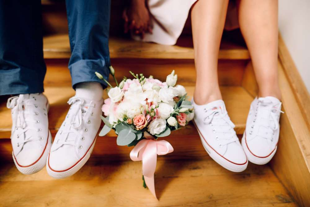 Der Fuß und der Schuh