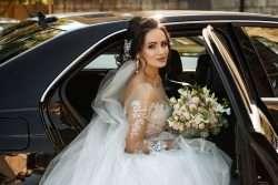 Kopfschmuck für die Hochzeitsfrisur der Braut