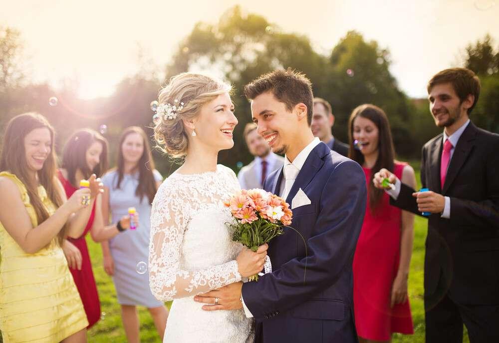 Zahl der Hochzeitsgäste