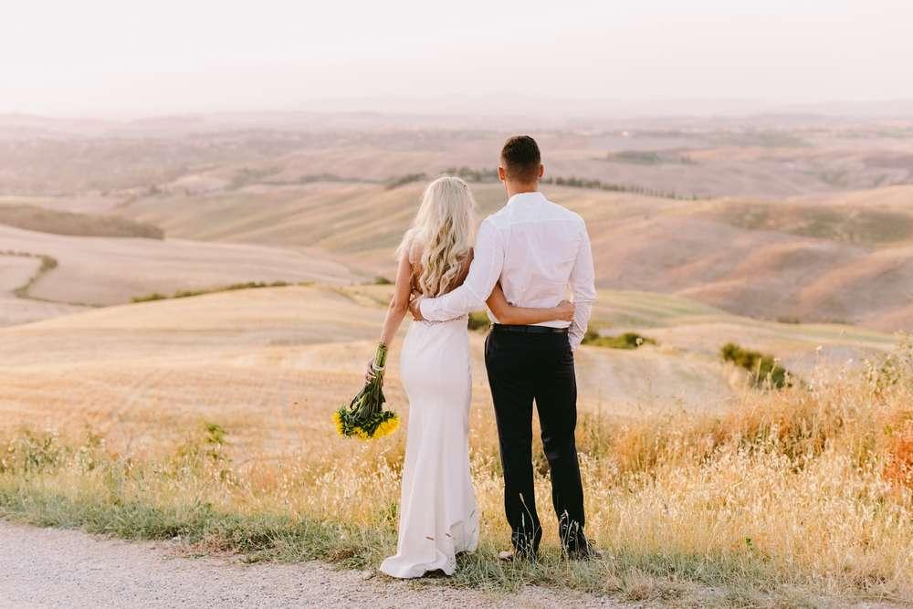 Hochzeitsreise durch die Toskana